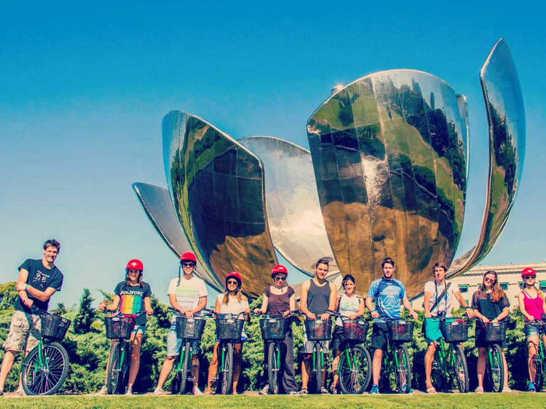 Learn Spanish while bike touring around Buenos Aires